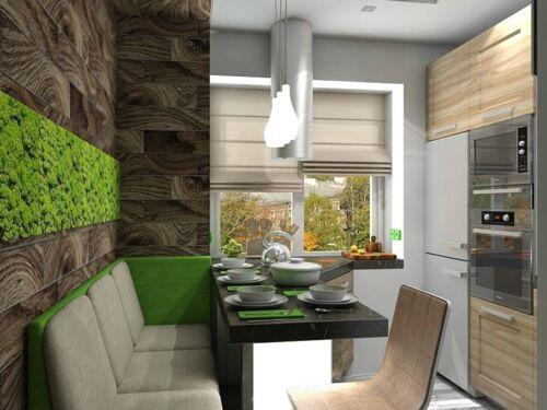 Кухни в Эко стиле