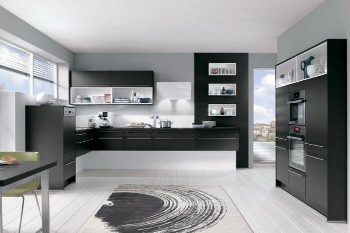 Черные кухни – современно и стильно