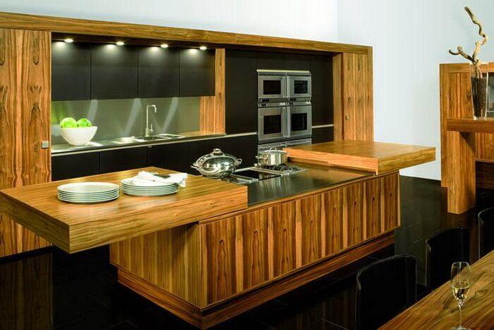 Кухня De Luxe фабрики Allmilmoe