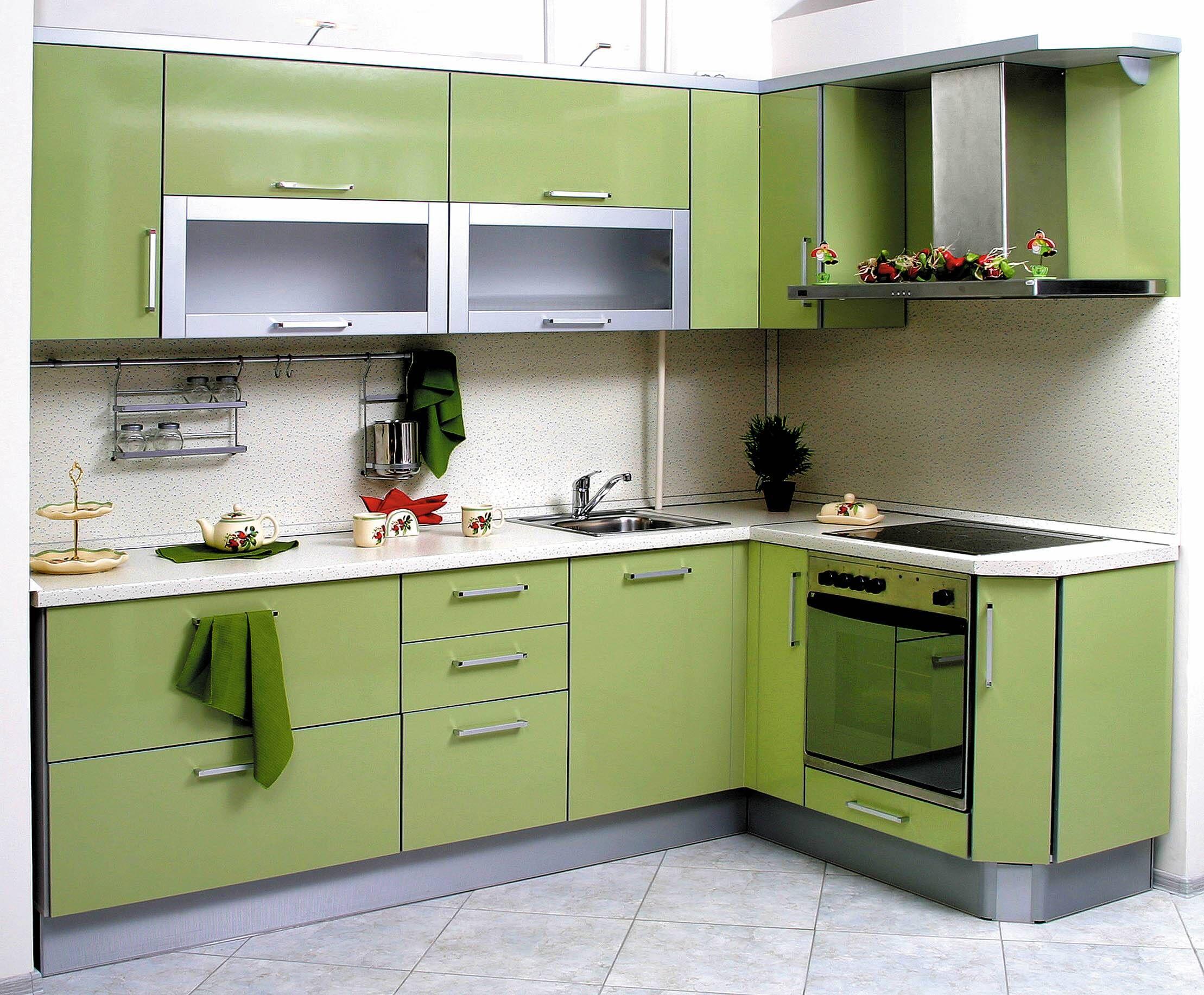 Эргономика современных угловых кухонь