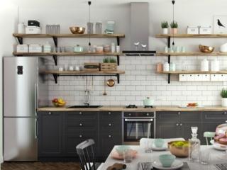 Мебель для кухни в скандинавском стиле – характерные особенности