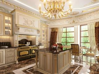 Мебель для кухни в имперском стиле – характерные черты и особенности