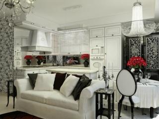 Мебель для кухни в стиле арт-деко – практичность и роскошь
