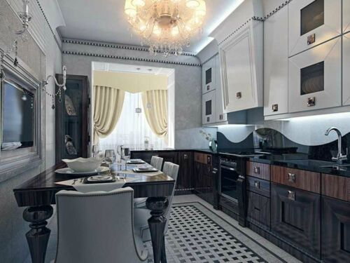 Кухни с стиле Арт-деко