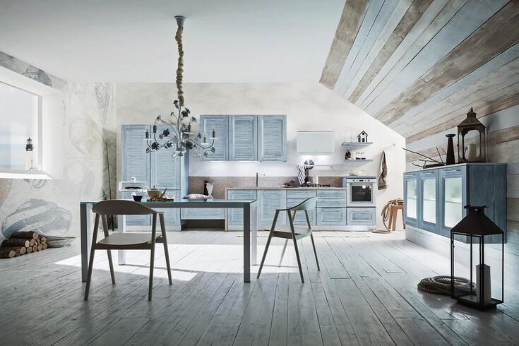 Итальянская кухня в стиле неоклассика vela от фабрики ar tre в